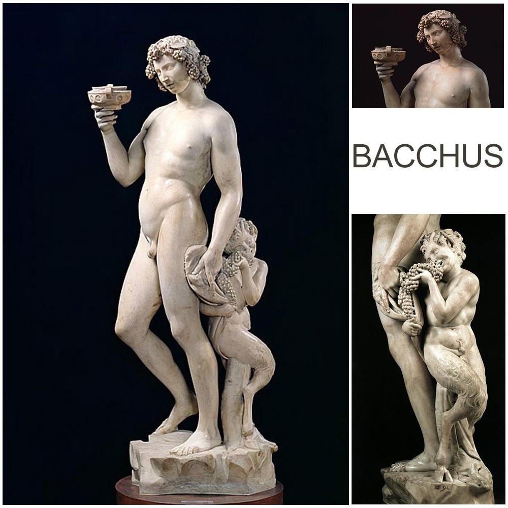 Bacchus Marble statue