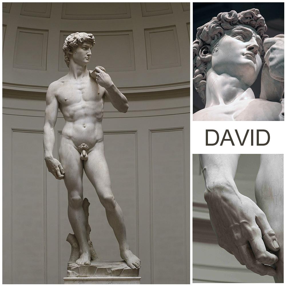 David Michelangelo marble
