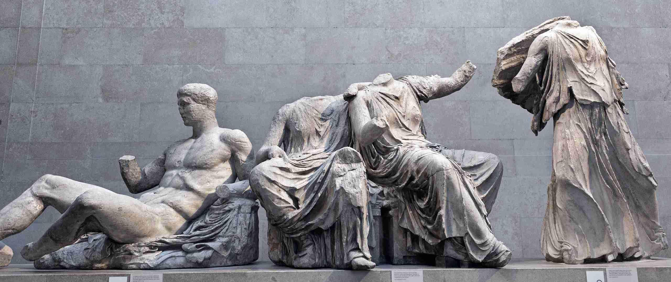 Group sculptures of Parthenon