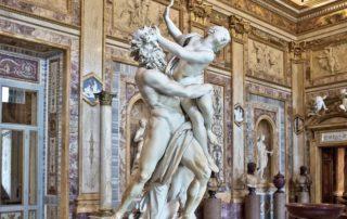 The Rape of Proserpina sculpture