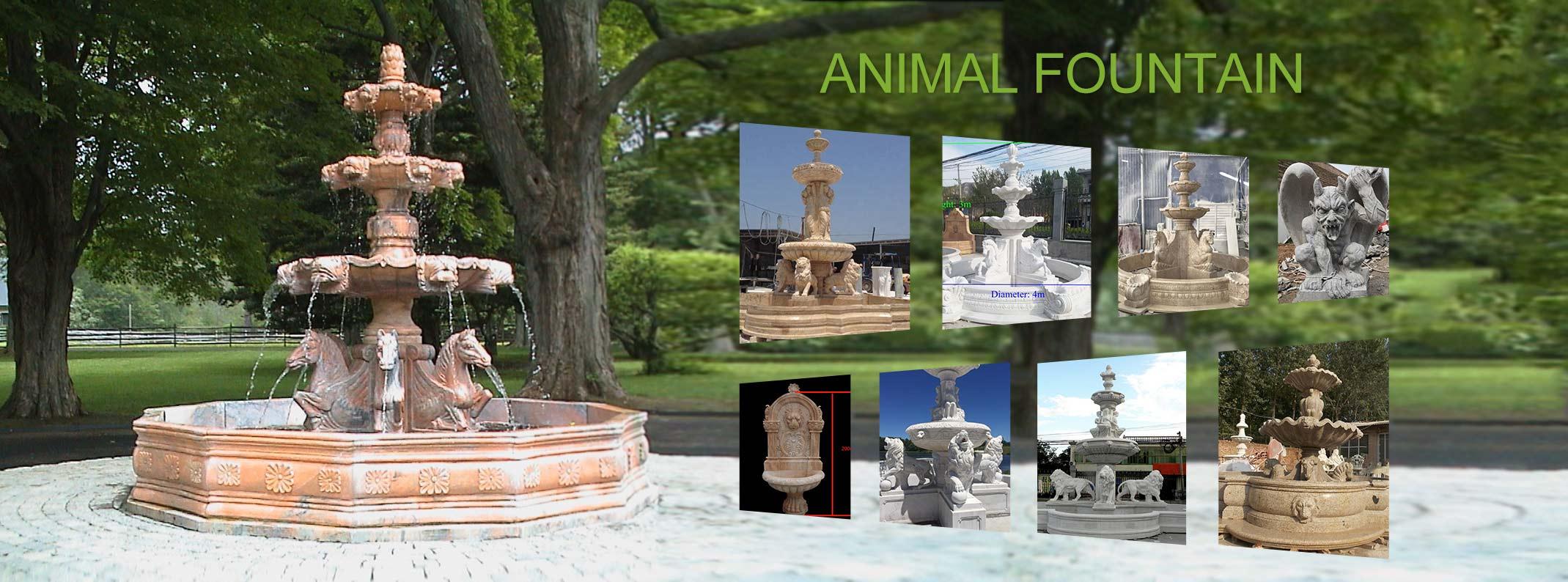 animal fountain