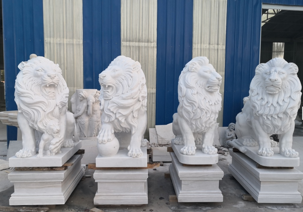 best marble statues of lion 2 (3)