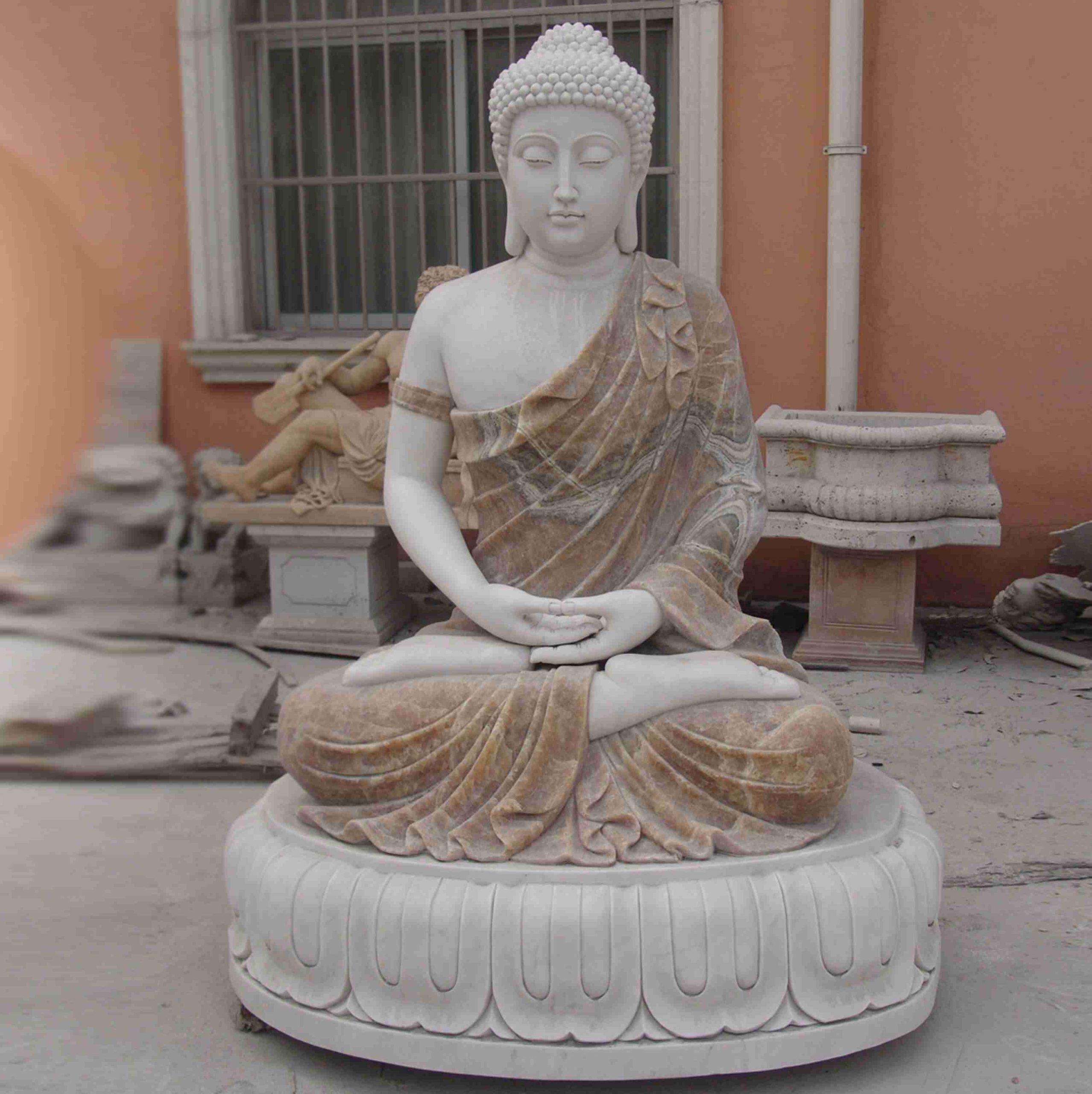 buddha marble