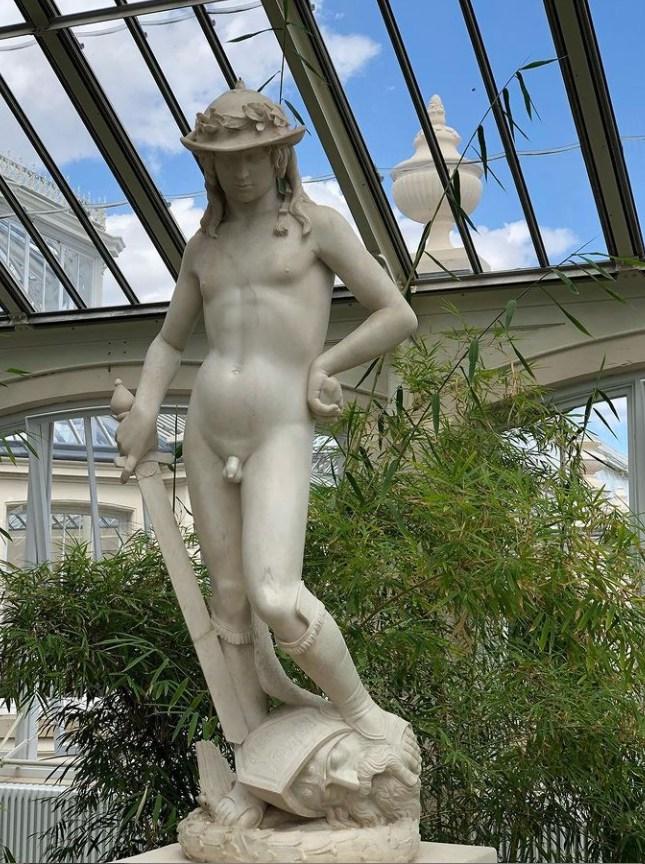 donatello marble david
