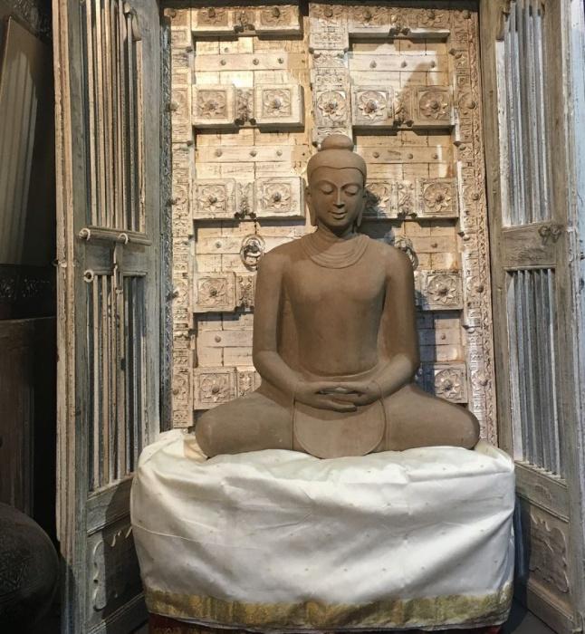 granite sandstone buddha