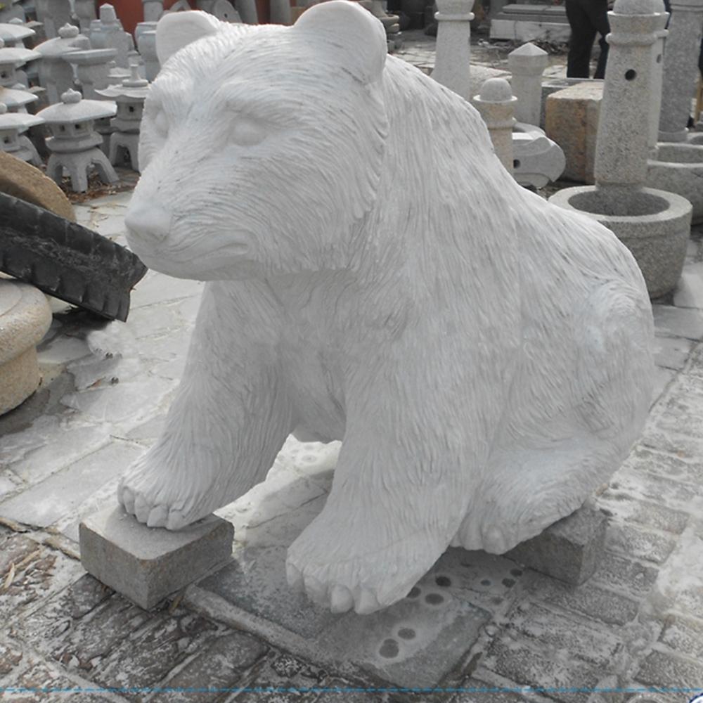 marble polar bear sculpture (3)