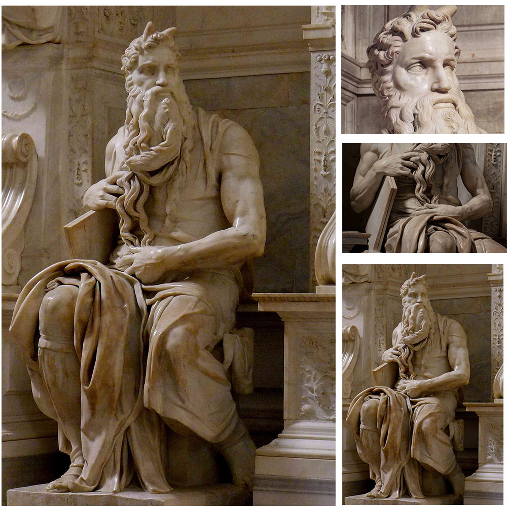 Marble Statue Of Moses