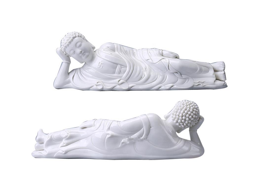 sleeping buddha garden statue for ornament