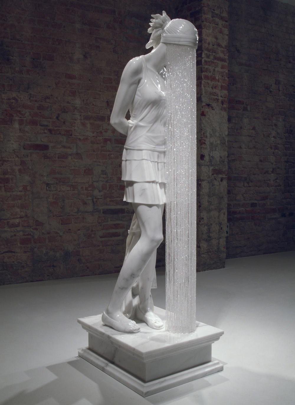 Ghost Girl sculpture
