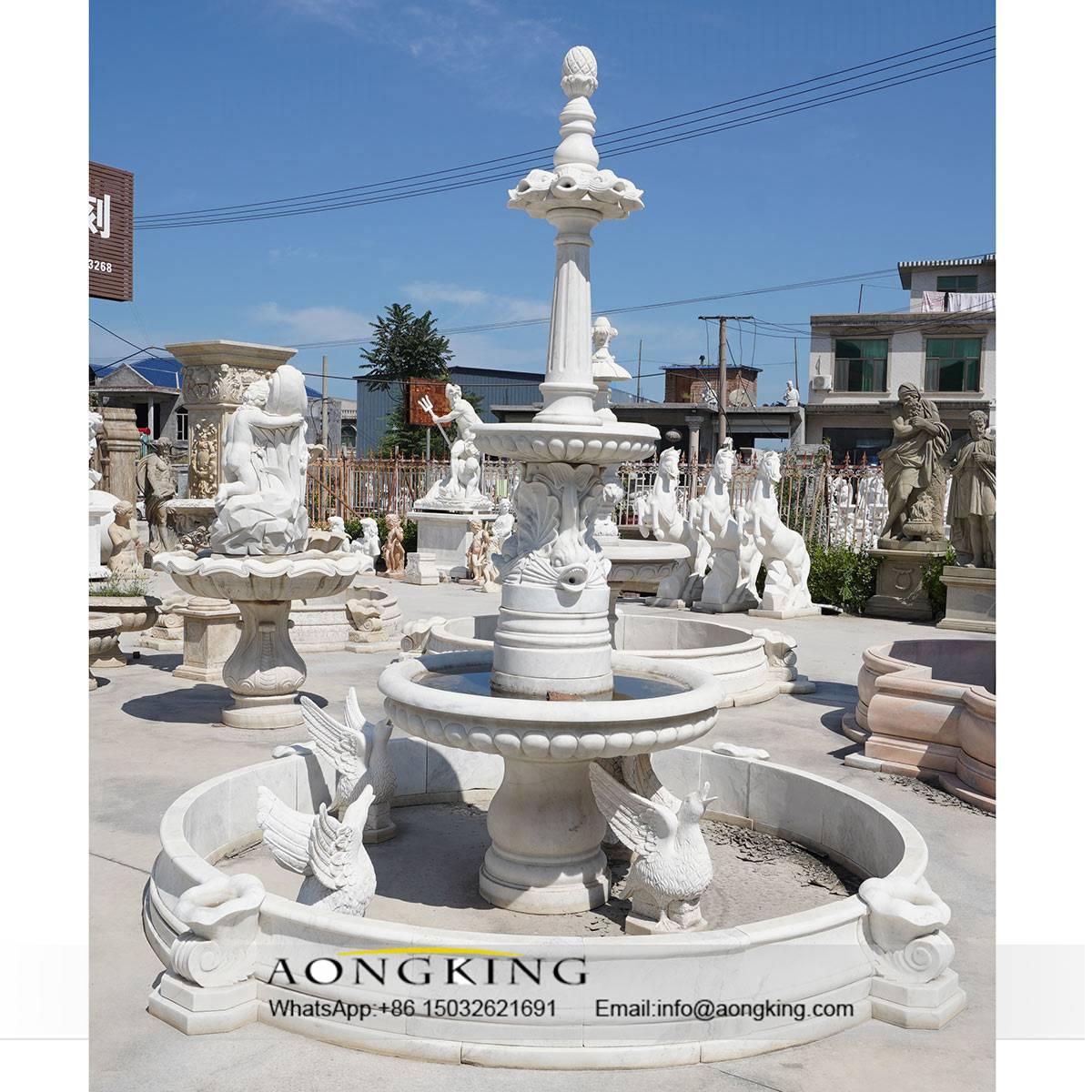 animal art fountain