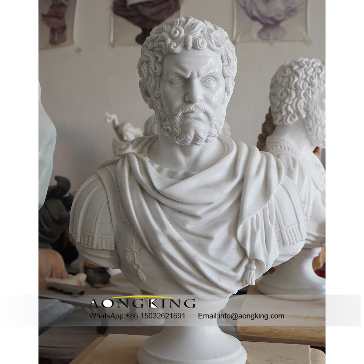 bust marble