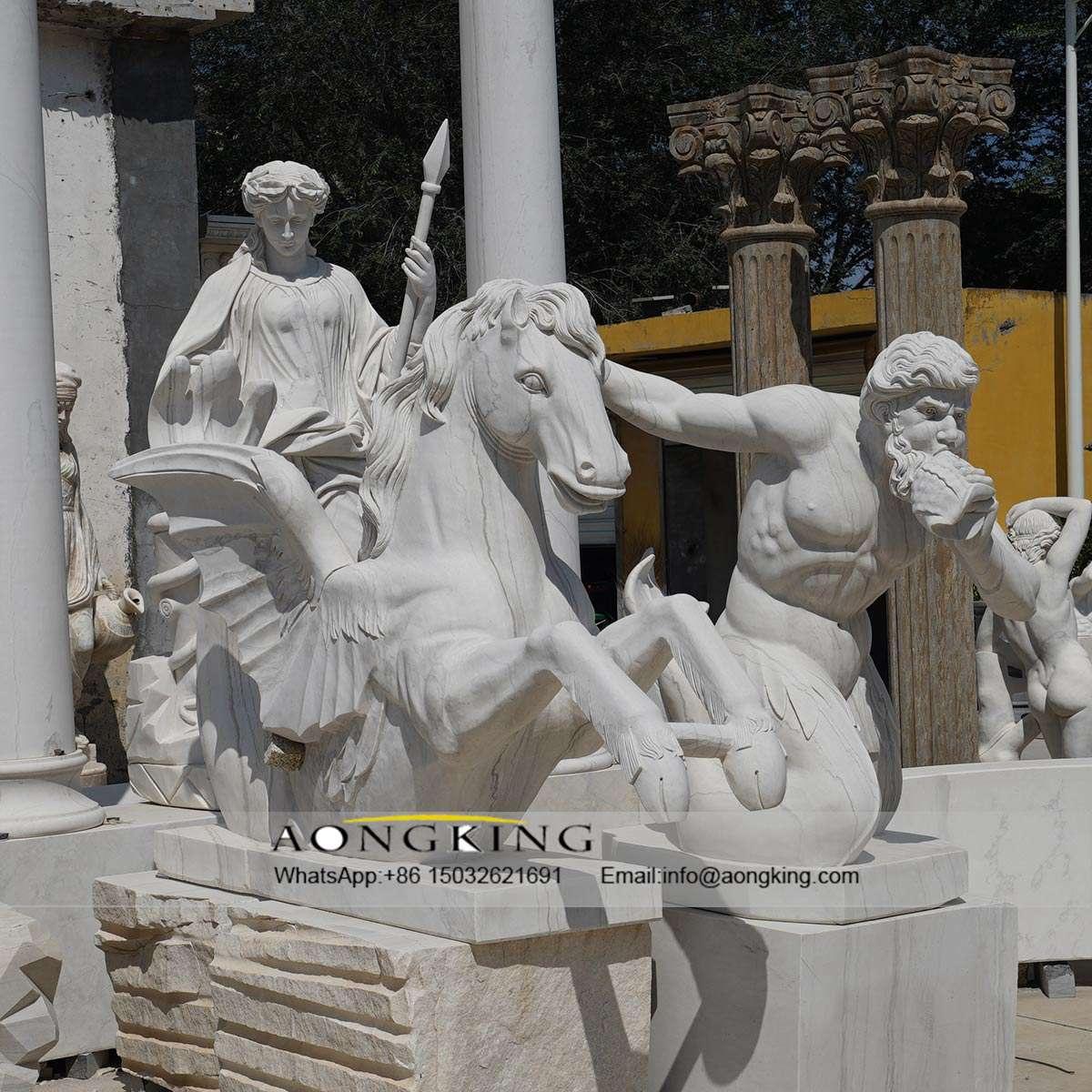 driving god statue