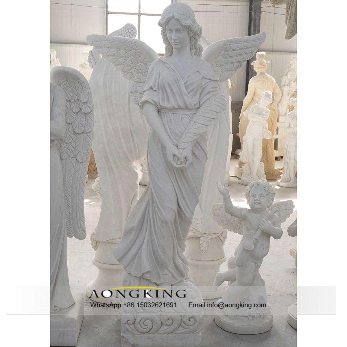 granite angel statues