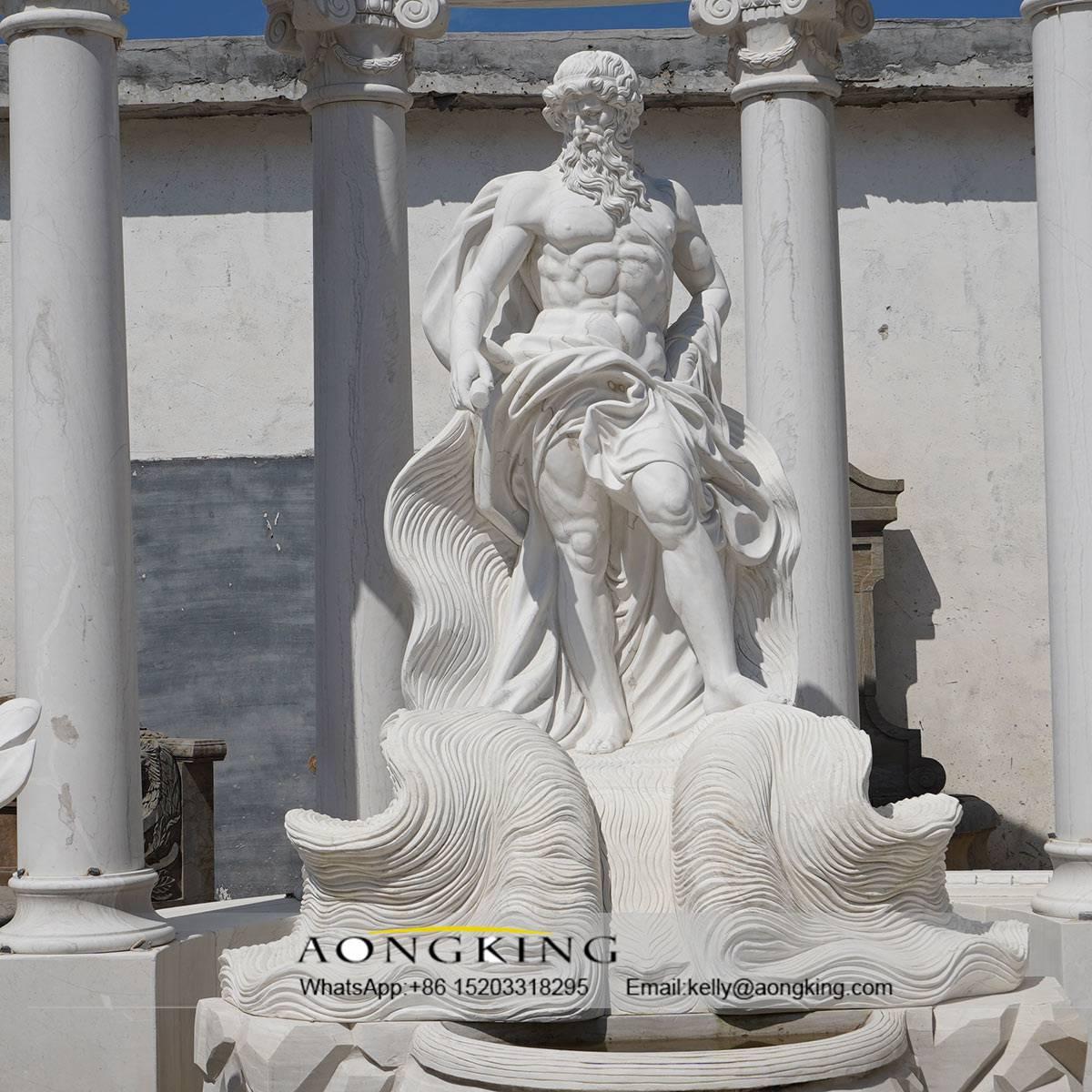 greek column figure statue