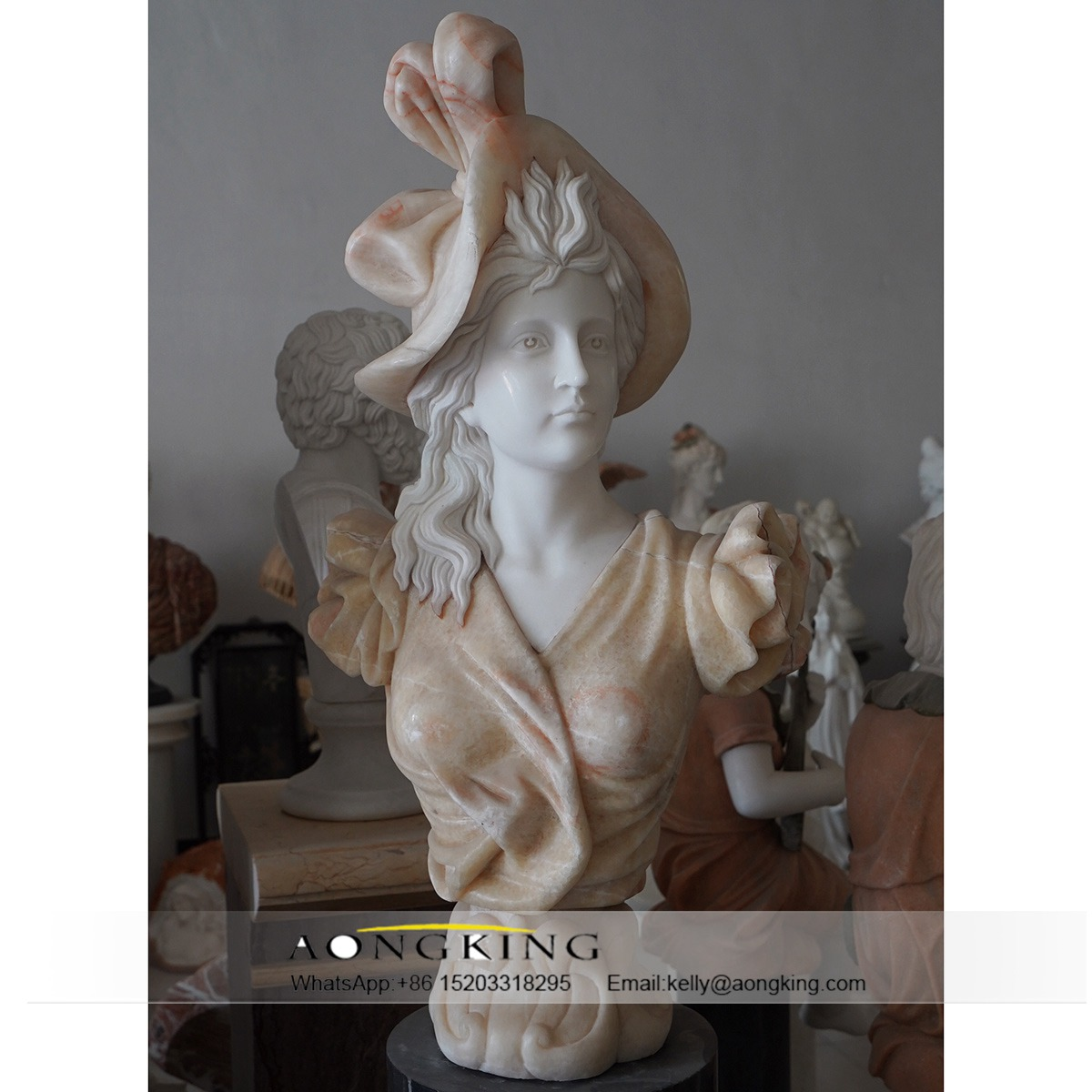 marble bust of yourself