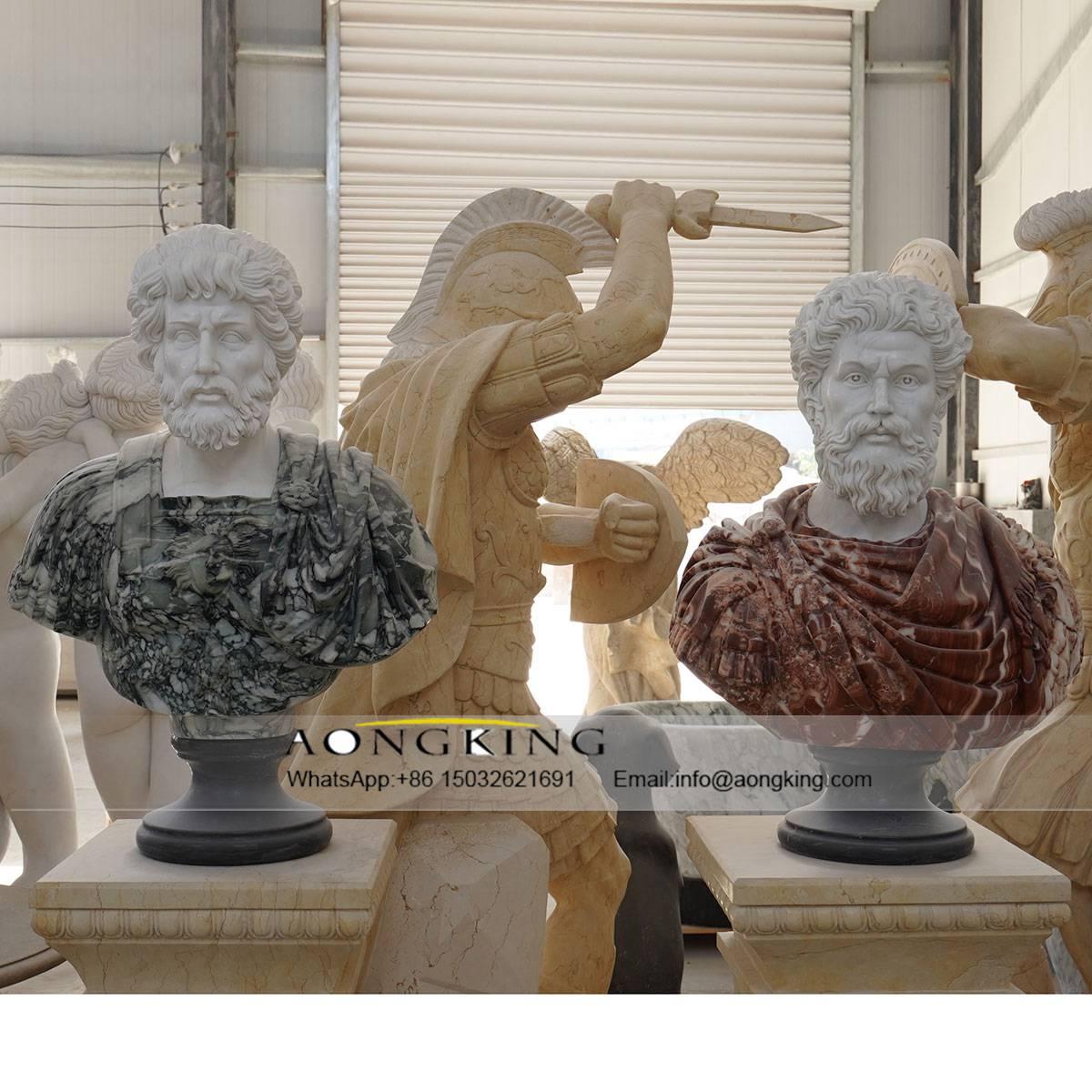 marble statue head