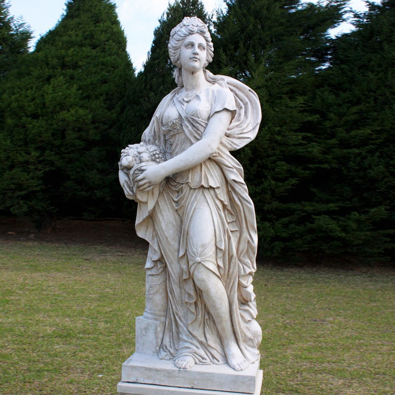 marble statue woman