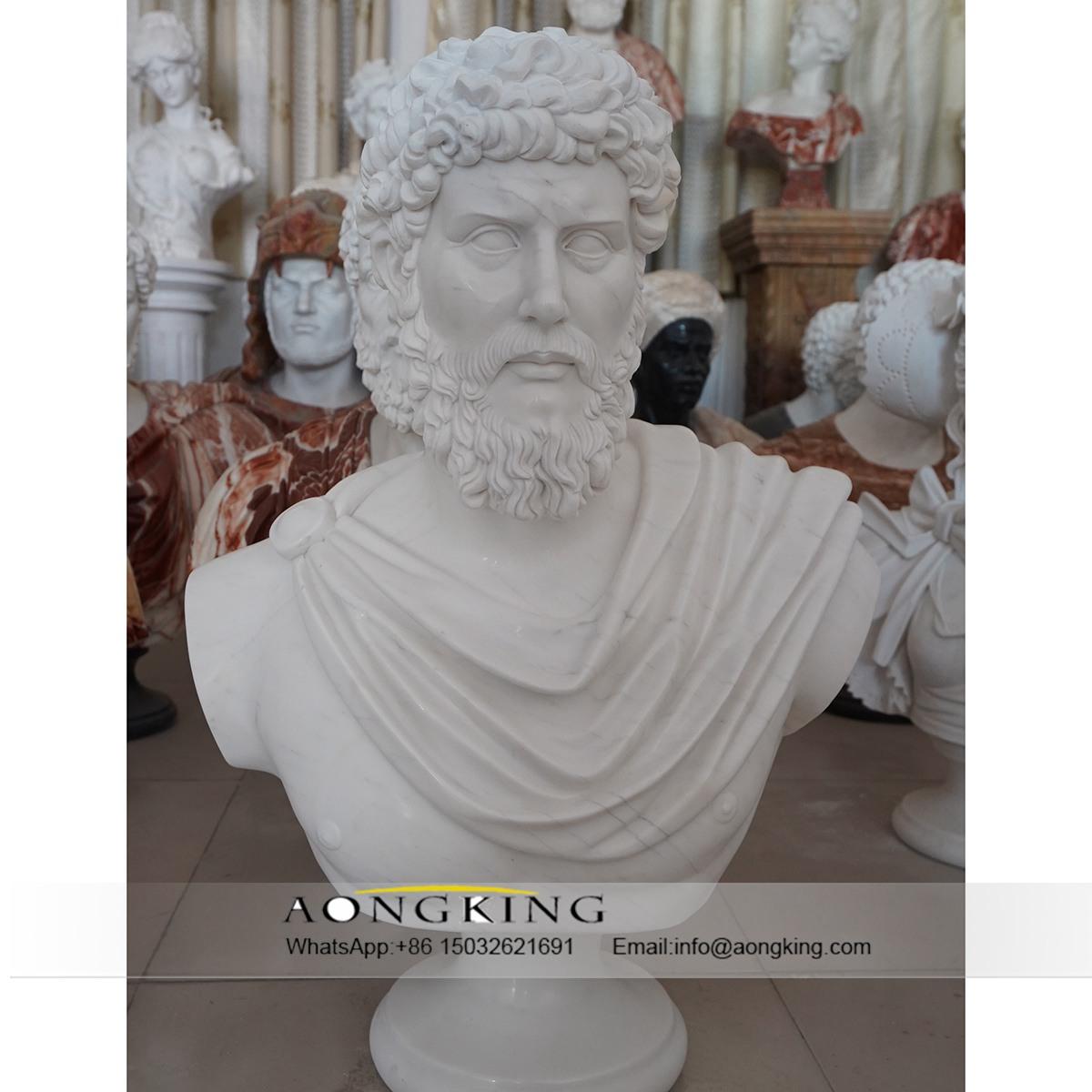 roman male bust