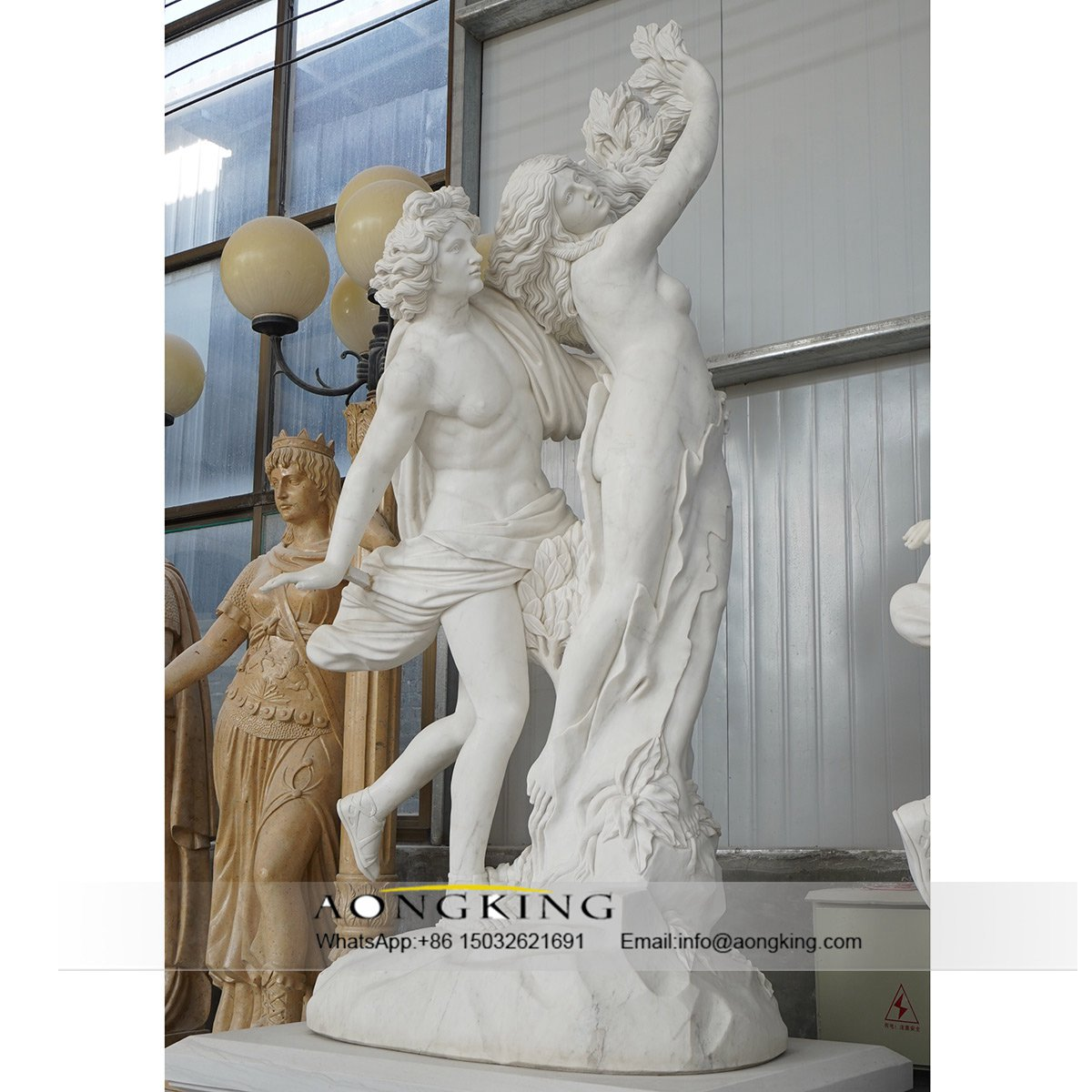 statues made of marble